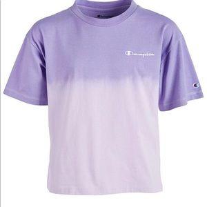Ombré purple champion shirt
